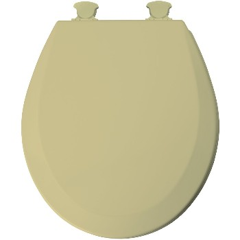 Round Toilet Seat - Molded Wood