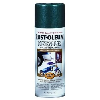 Buy The Rust Oleum 7252 Metallic Spray Paint Racing Green Hardware World