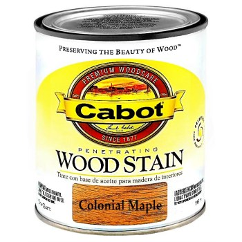 Wood Stain - Colonial Maple - 1 quart