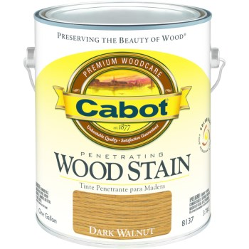 Penetrating Wood Stain, Dark Walnut~Gallon