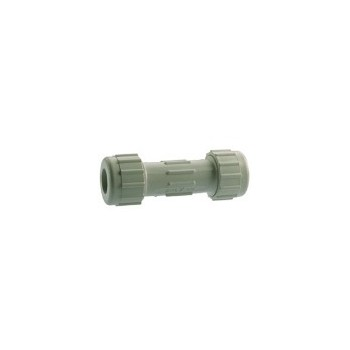 PVC Compression Coupling, 1 inch