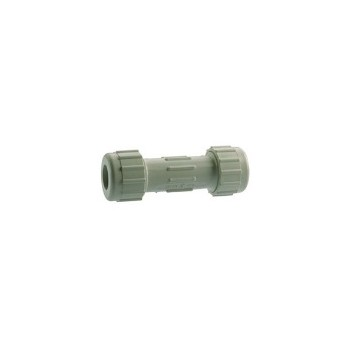 PVC Compression Coupling, 1 1/2 inch
