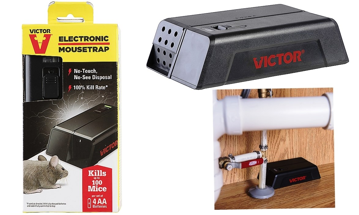 Buy The Woodstream M250s Victor Brand Electronic Mouse Trap View Larger Image