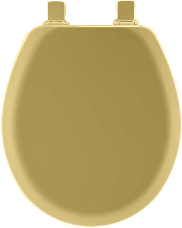 Groovy Toilet Seat Round Molded Wood Harvest Gold Ncnpc Chair Design For Home Ncnpcorg