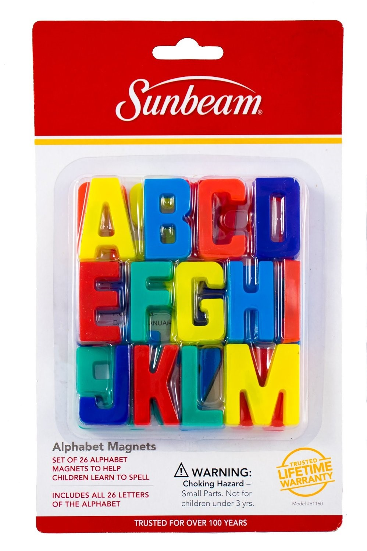 Design Alphabet Magnets buy the sunbeamrobinson 61160 alphabet magnets set of 26 view larger image