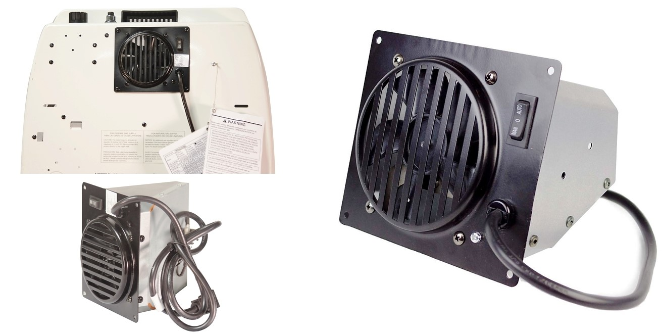Gas Space Heaters With Blowers : Buy the world mktg wall heat blower for kozy