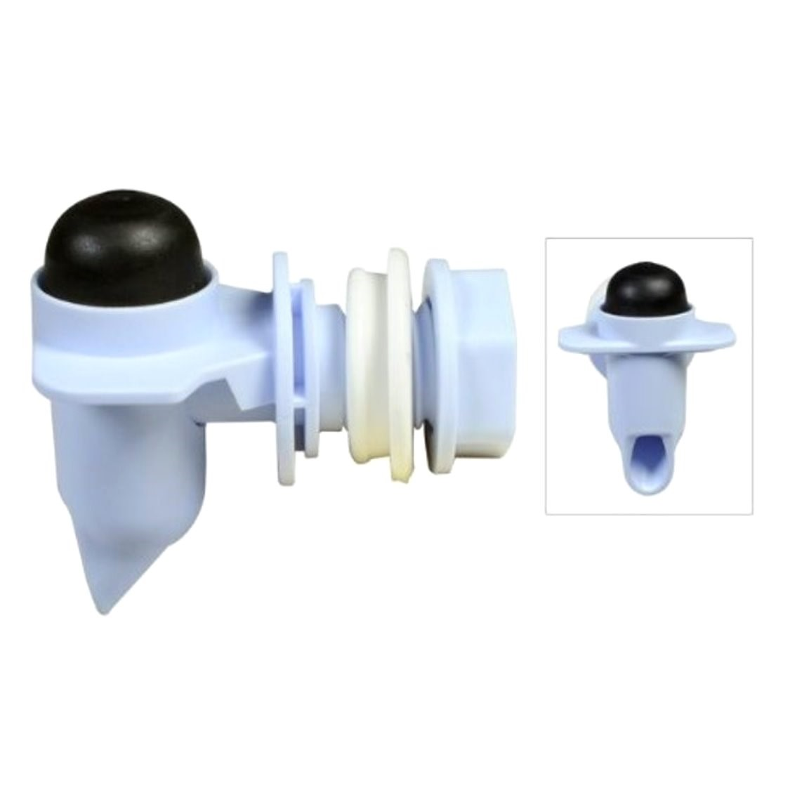 Buy the Rubbermaid FG2B8725WHT Water Cooler Spigot Kit, Replacement ...