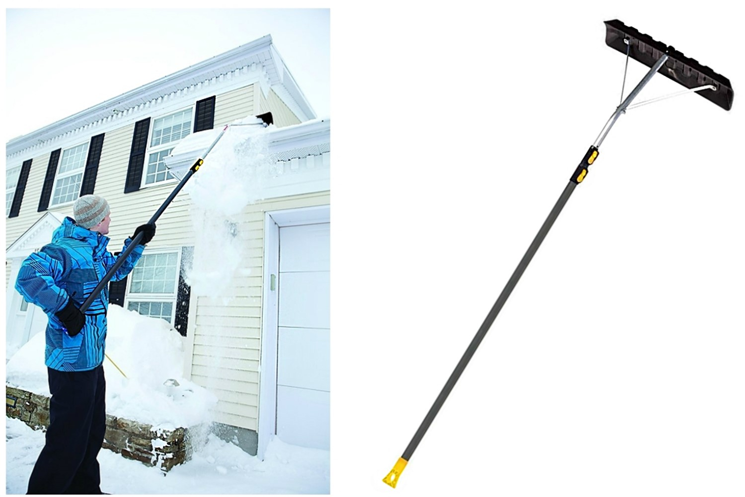 Buy The Ames 193055510 True Temper Telescoping Snow Roof