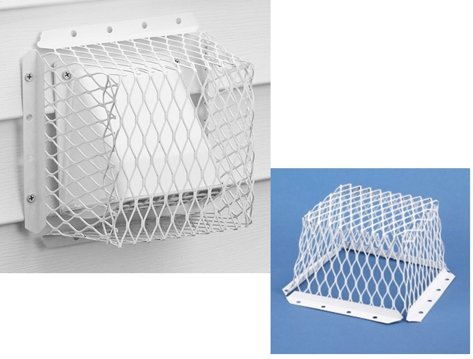 Buy The Hy C Rvg Dvg 3 Dryer Vent Guard White 7 X 7 X 5
