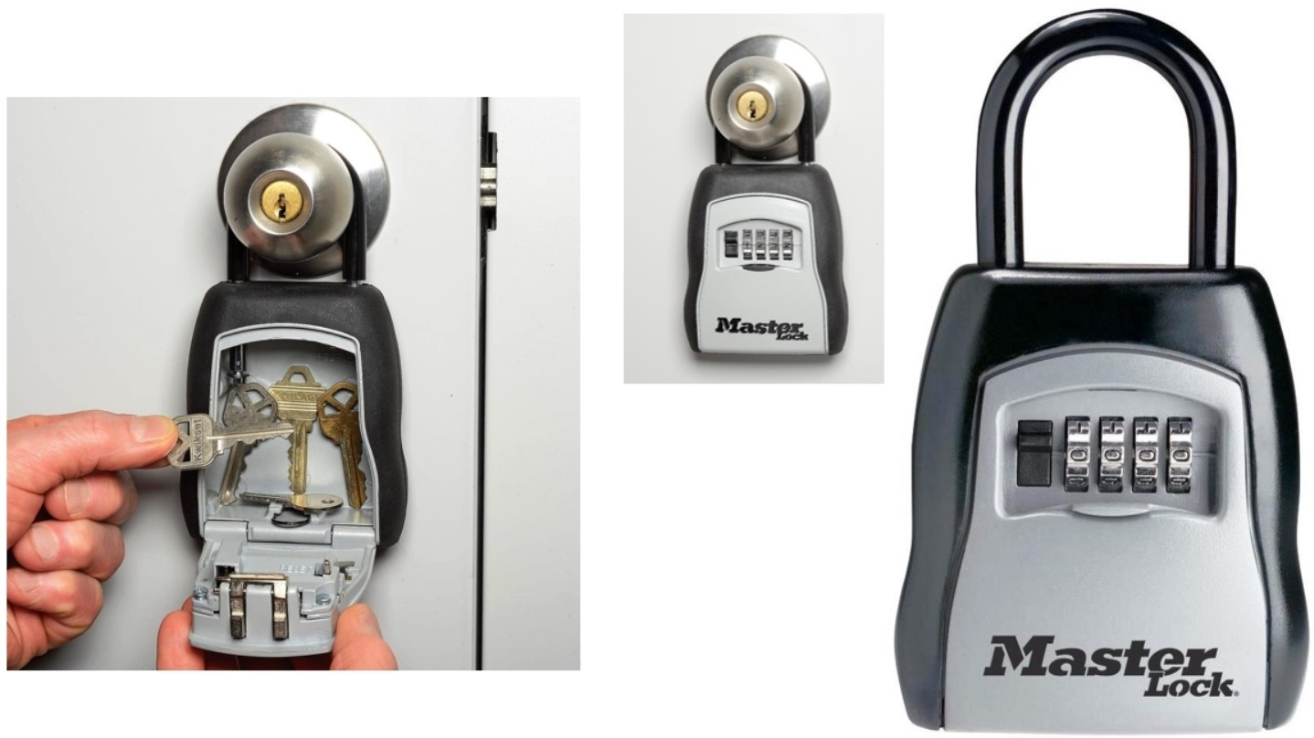 1dbd9184a573 Portable Lock Box Key Storage Security Safe