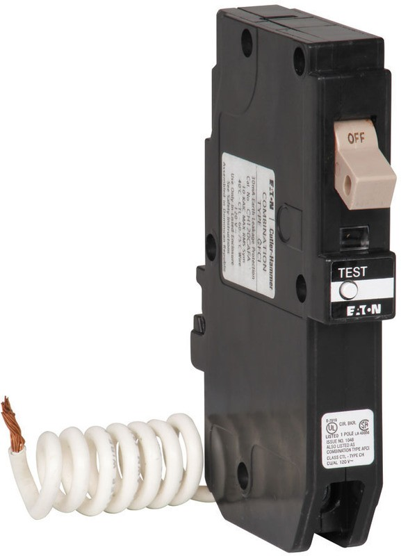 Buy the Eaton Corp CHFGFT120 GFCI Breaker ~ 20 AMP | Hardware World