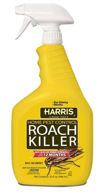Buy the Harris HRS32 RTU Roach Killer Spray Hardware World