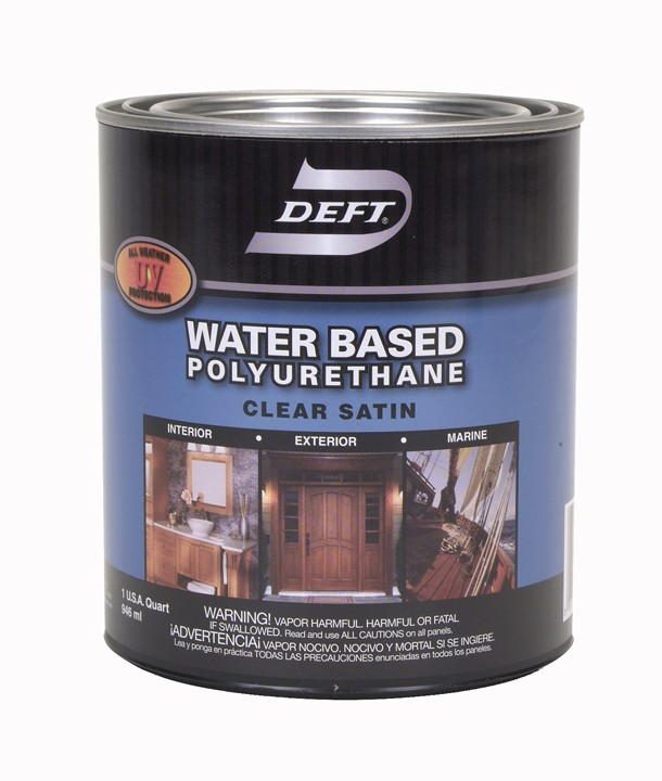 Applying Exterior Polyurethane: Buy The Deft DFT259/04 Polyurethane Finish-Water Based