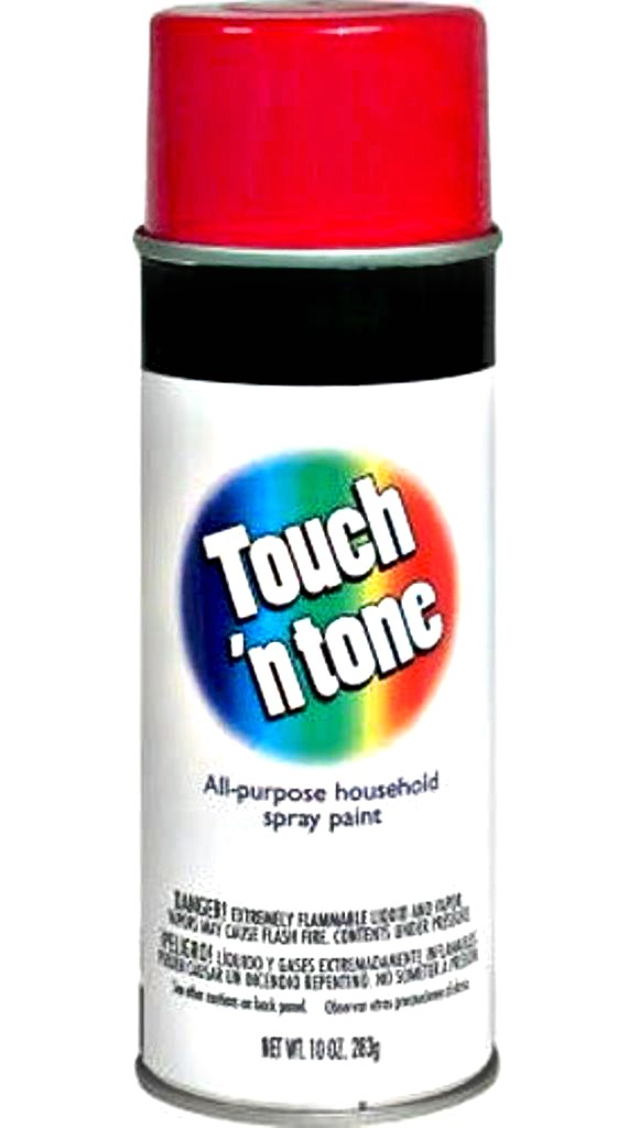 Touch 'N Tone Spray Paint, Cherry Red Gloss ~ 10 oz Cans