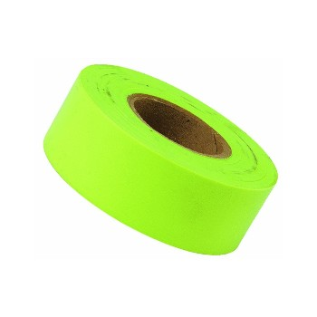 Fluorescent Lime Flagging Tape