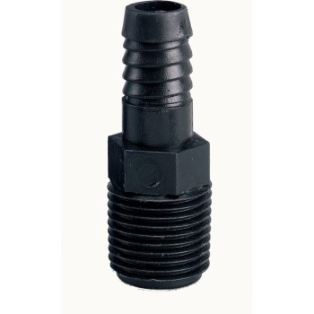 "Barb Riser Adapter ~ 3/4"" MNPT x 1/2"" Barb"
