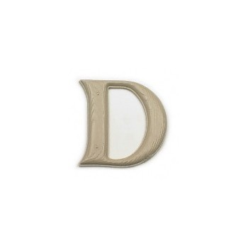 House Letter D,  Simulated Wood-Grain Letter ~ 7""