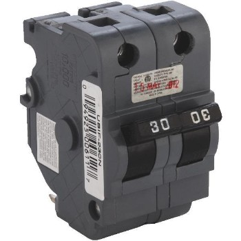 Thick  Double Circuit Breaker, 30-Amp 2-Pole