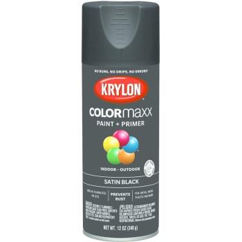 Krylon K05557007 5557 Sp Satin Black