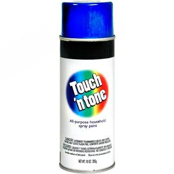 Rust-Oleum 278 Touch N Tone Spray Enamel Royal Blue