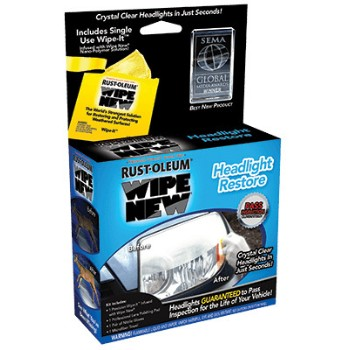 Wipe New Restore Kit ~ Headlight Kit