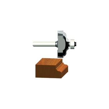 Ogee Router Bit with Fillet - 1/4 inch radius