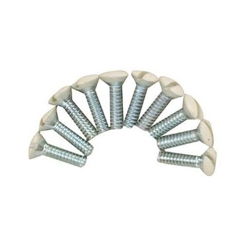 Gardner Bender  14-WPI Wall Plate Screws, Ivory