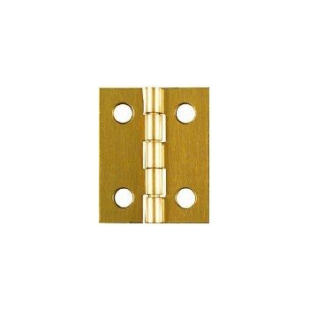 Solid Brass/Pb Hinge Visual Pack 1801 1 x 13/16 inches