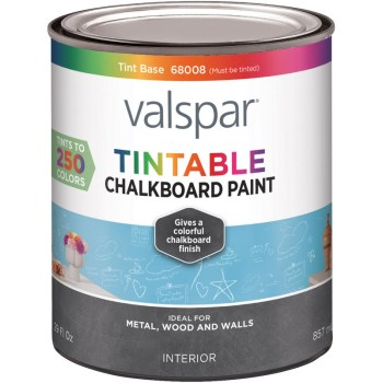 Chalkboard Paint, Flat Black ~ Quart