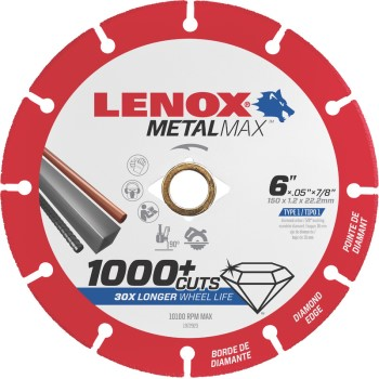 Lenox  6x7/8in. Cutoff Wheel