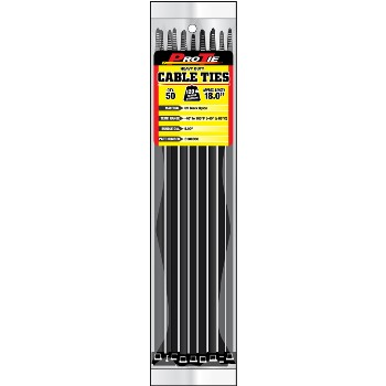Cable Ties ~ 18in. 50pk