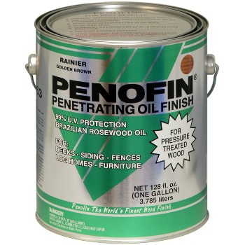 Penofin Penetrating Oil for Pressure Treated Wood, Rainier ~ Gallon