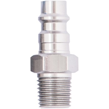 12925 1/4in. Hi Flow Male Plug