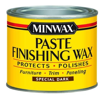 Paste Finishing Wax for Dark Wood ~ 1 pound