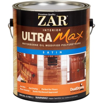ZAR Ultra Max Polyurethane, Satin ~ Gallon