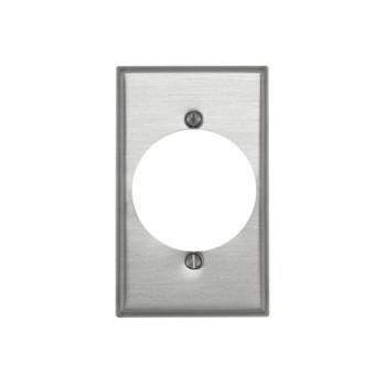 Leviton 000-83028 Power Outlet Receptacle  Wall Plate