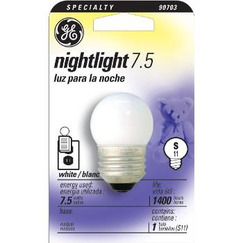 GE 41267 Night Light, White 7.5 Watt