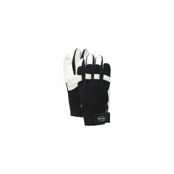 Boss 4047L Mechanic Gloves, Goatskin Palm Unlined ~ Large