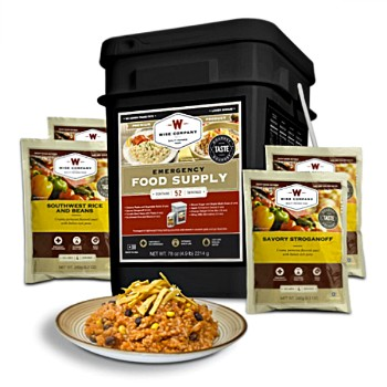Prepper Pack ~ 52 Adult Servings
