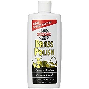 Brass Polish,  Hope's Brand ~ 8 oz