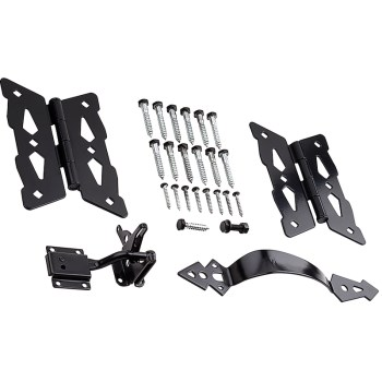 V8418 Blk Btrfly Hng Gate Kit
