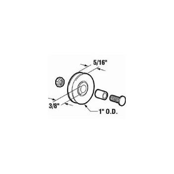 PrimeLine/SlideCo B553 Scrn Door Roller Assembly