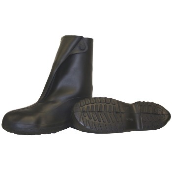 Rubber Overshoe, Black  ~ Size Medium