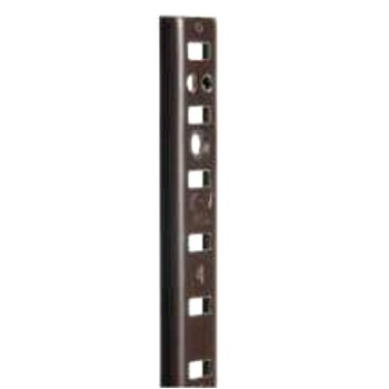 Shelf Standard, Brown 48 inch
