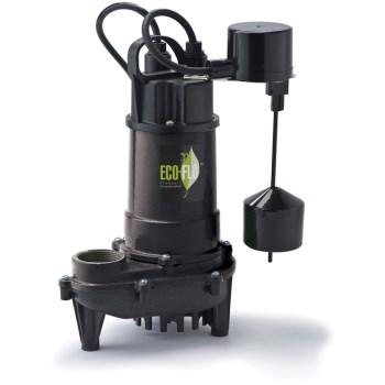 Eco-Flo Products Inc ECD50V 1/2 Hp Ci Sump Pump