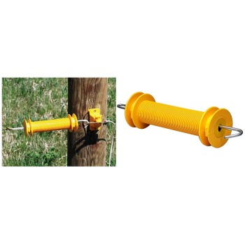 Rubber Gate Handle ~ Yellow