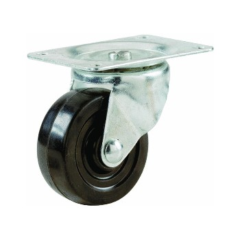 Swivel Caster, Rubber Wheel ~ 2""