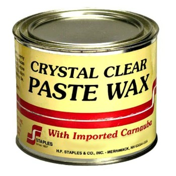 HF Staples   212 Paste Wax, Clear ~ 4 lbs