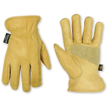 Med Lined Cwhide Glove