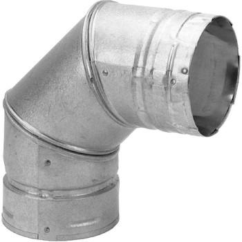 M & G Duravent 3PVL-E90 Pellet Stove Vent Elbow
